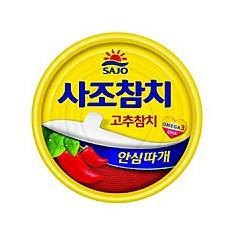 사조참치캔(고추)